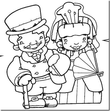 Dibujos Para Pintar De La Epoca Colonial Vendedores Ambulantes Transportes Damas Antiguas Y Actividades Epoca Colonial Dia De La Independencia De Argentina
