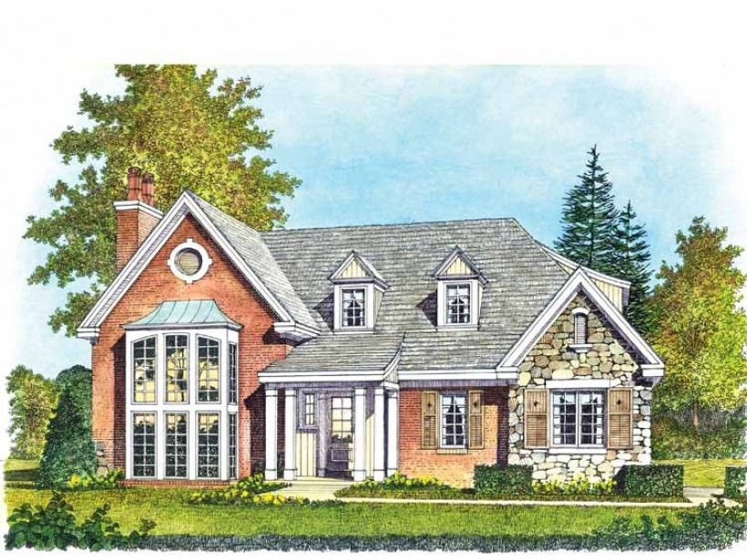 Contemporary Style House Plan 3 Beds 2 5 Baths 2335 Sq Ft Plan 1016 99 Split Level House Plans House Plans Ranch House Plans