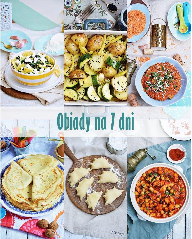 Obiady Na 7 Dni Lunch Recipes Healthy Food Healthy Recipes