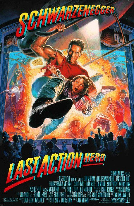 Last Action Hero 1993 Posteres De Filmes Cartazes De Cinema E