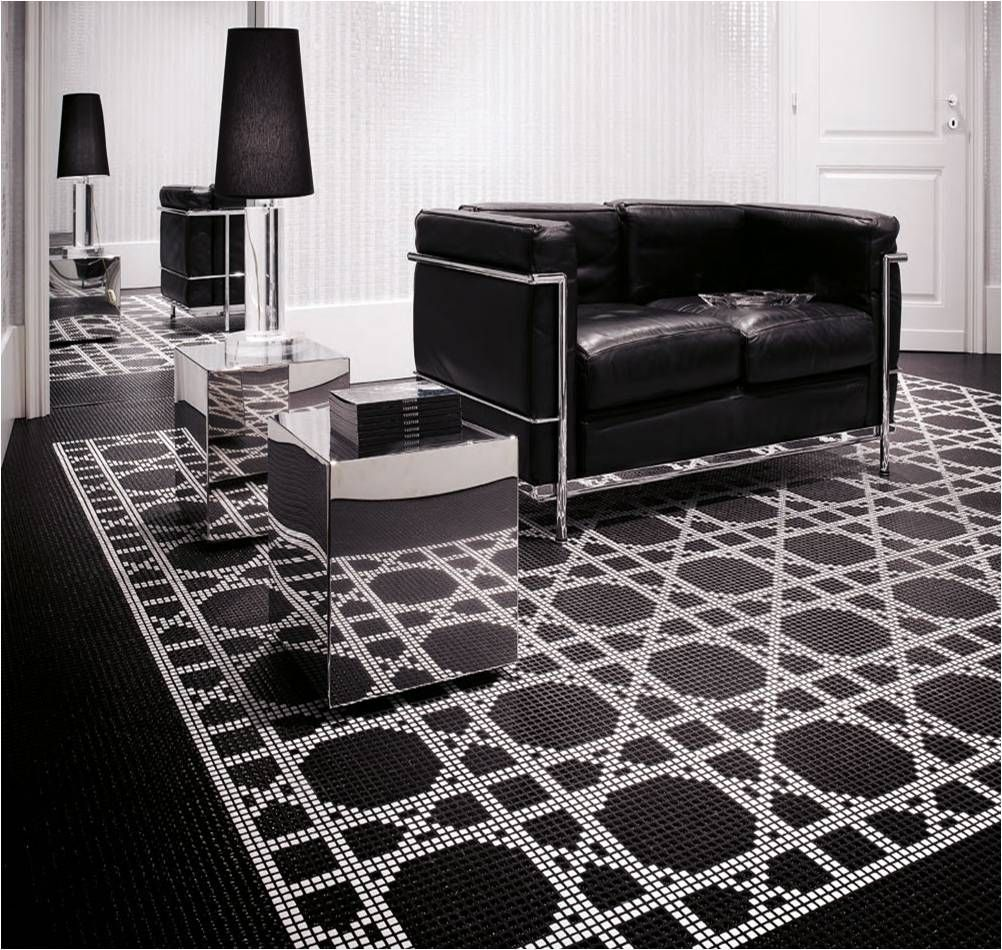 bisazza hollywood glam glass mosaic tile allstone mosaic floor bosdesignmarket - Glass Tile Living Room 2015