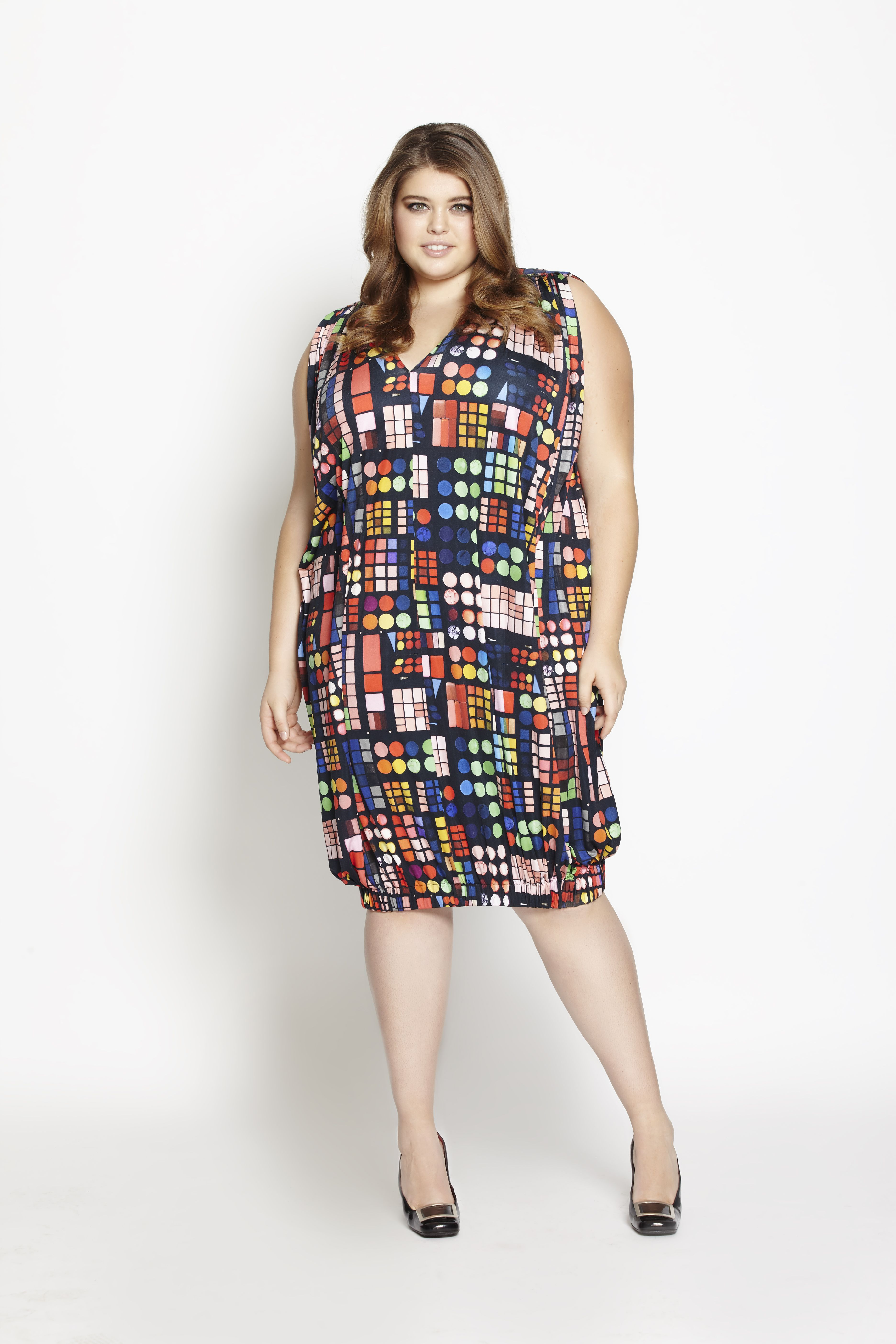 Double Bubble Dress - Eat Your Make-up | Beth Ditto Plus Size ...