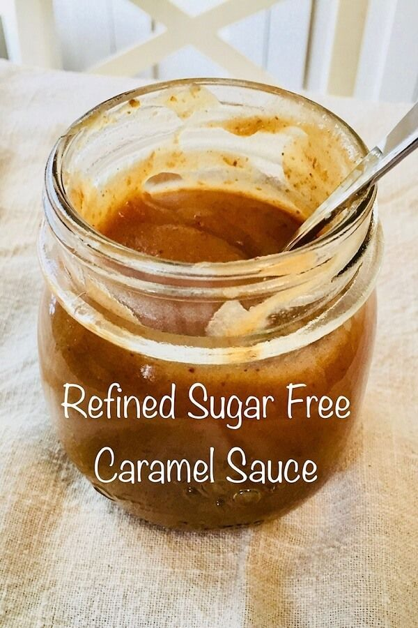 Refined Sugar Free Caramel Sauce Caramel sauce recipe that is refined sugar free. This date caramel