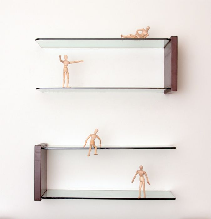 Glass corner shelf store floating glass shelves living - Glass corner shelf for living room ...