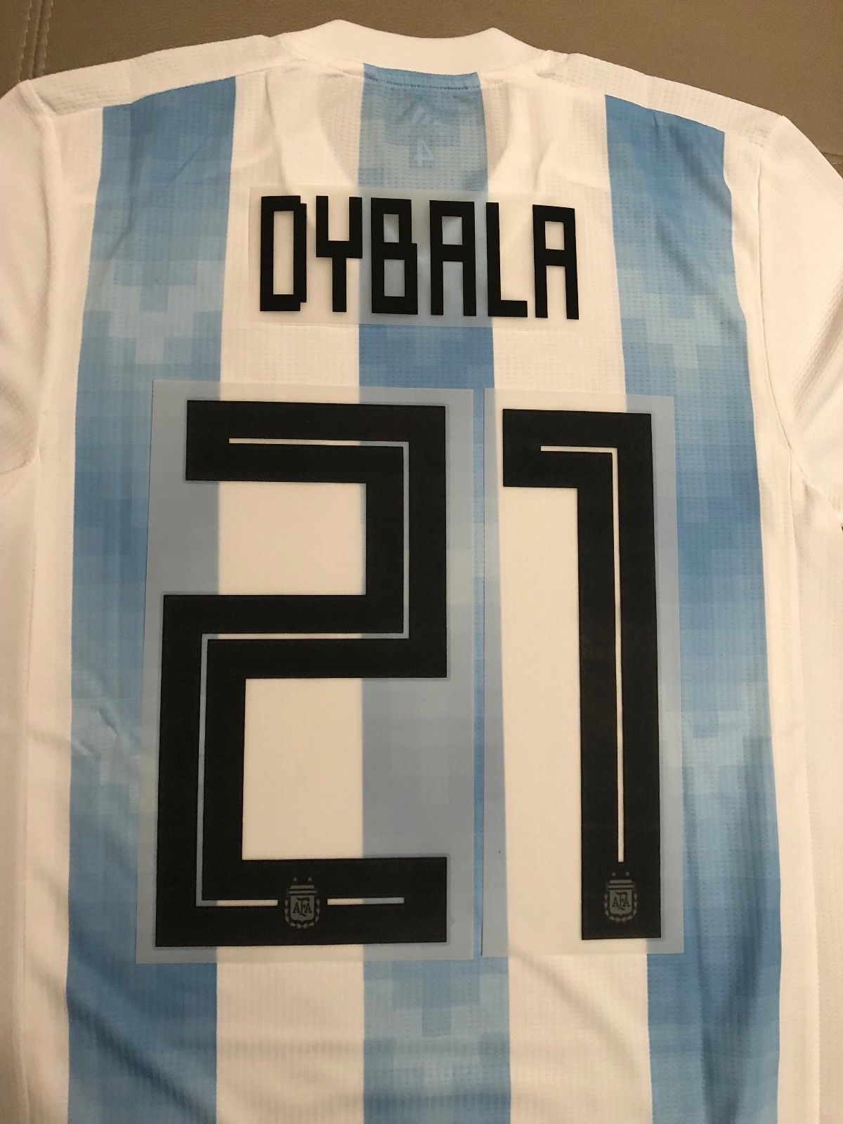 0d9f800a8d4 DYBALA 2018 World Cup Argentina  21 Name Number Professional Size Discount  Price 40.00 Free Shipping