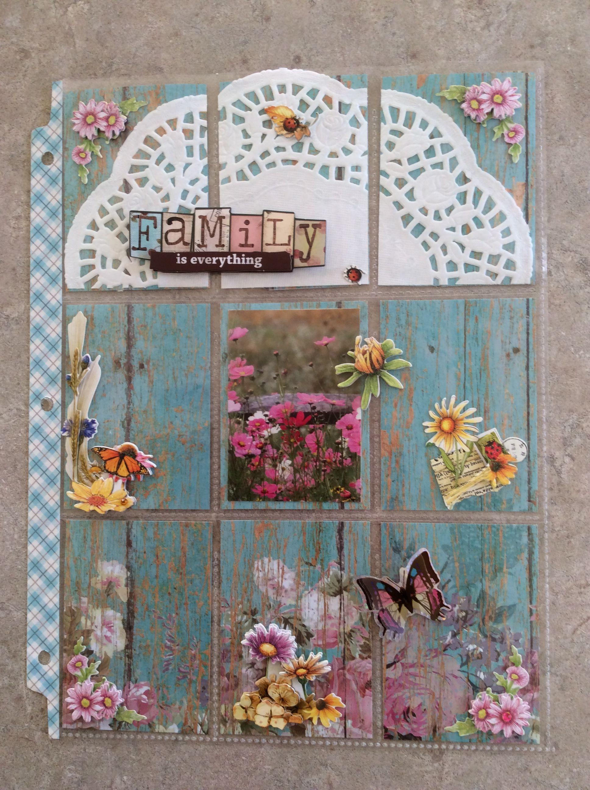 Flower pocket letter | pocket letter | Pinterest | Cartas de ...