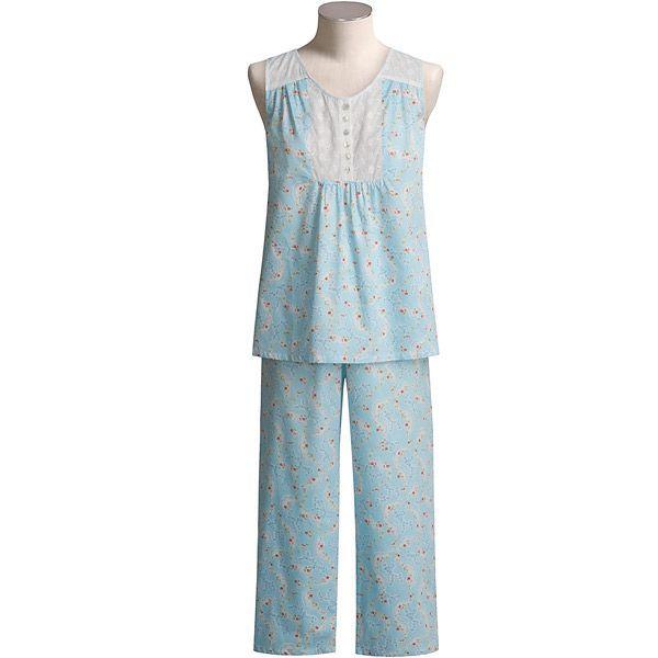 Anne Lewin Cotton Sateen Pajamas - Sleeveless (For Women) - Save 46%