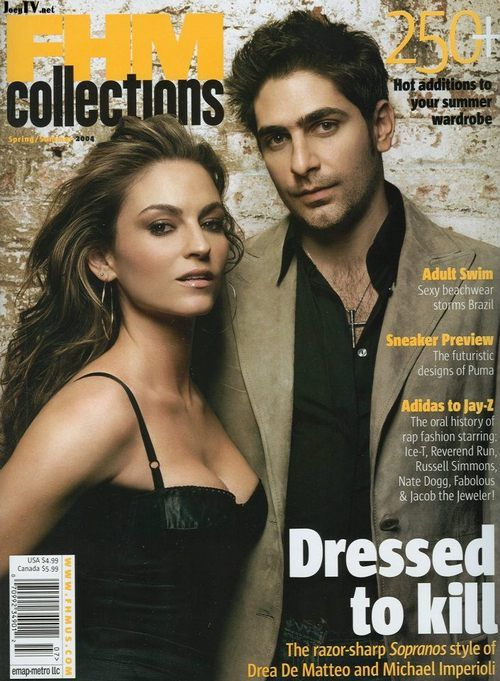 Drea and Michael on FHM