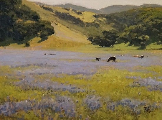 Lupin Meadow by Brian Blood