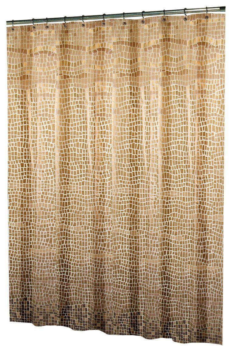 Excell Lagoon By EVA Shower Curtain Bronze