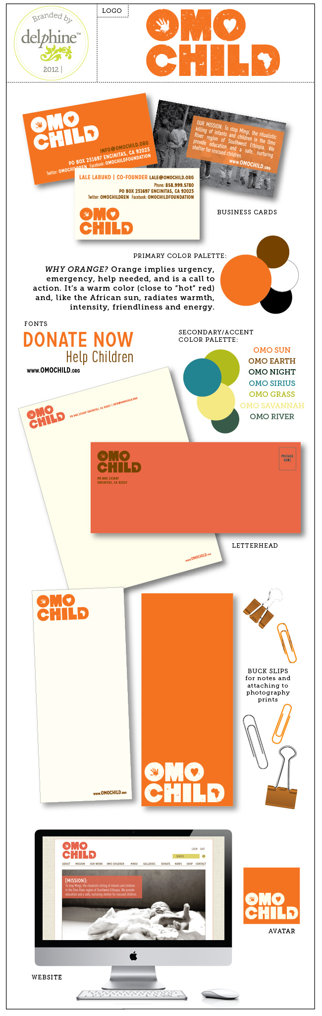 Logo and Identity for Children\'s Charity | Branding by Delphine ...