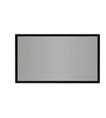 Draper Accuscreens 106 Inch 16 9 Aspect Ratio Fixed Gray Projection Screen By Draper Inc 252 42 106in Diagonal A Projection Screen Screen Projection Screens