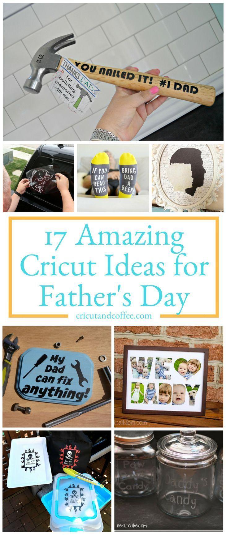 cricut gift ideas for dad