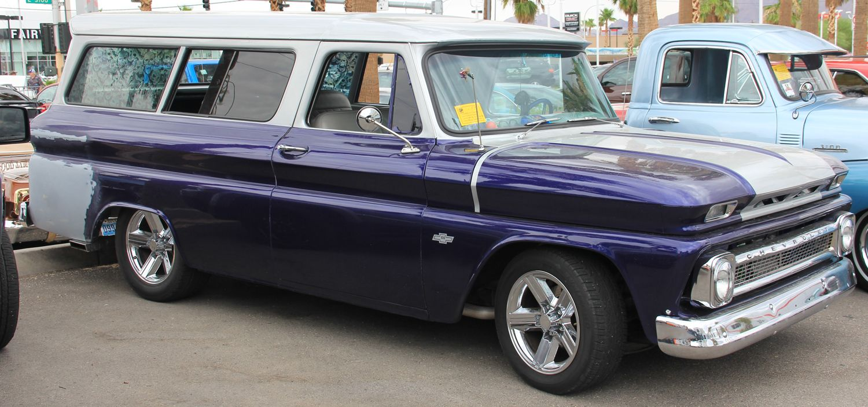 1966 Suburban Chapman Las Vegas   2015 4th of July Classic Car ...