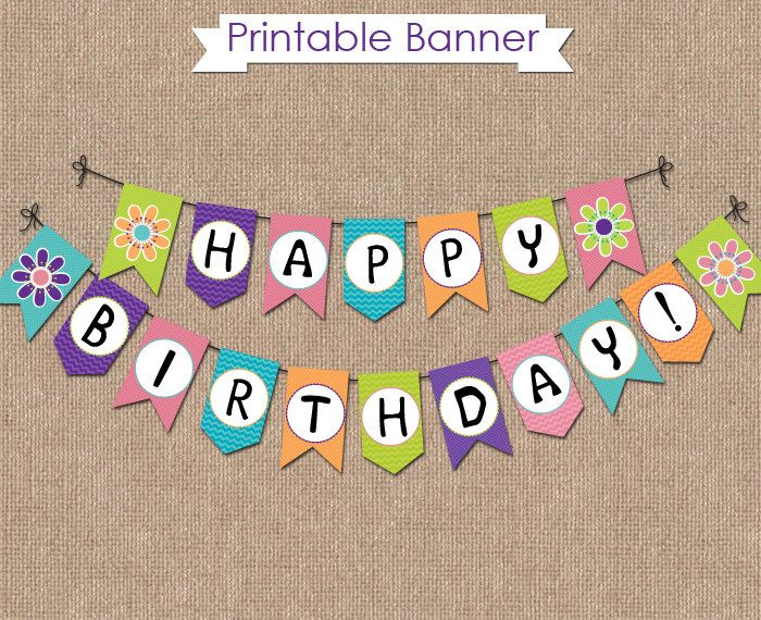 Scooby Doo Birthday Banner Instant Download Birthday Party