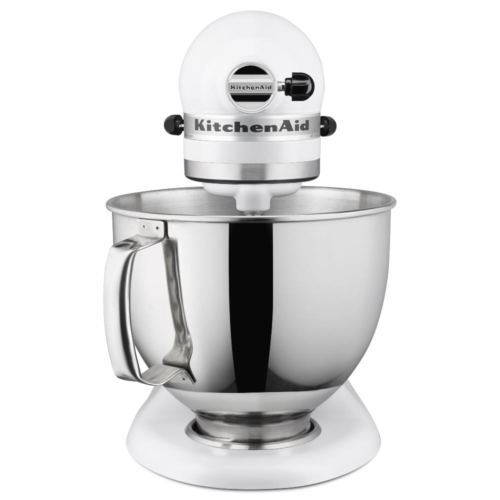 White Kitchenaid Artisan 5 Quart Mixer
