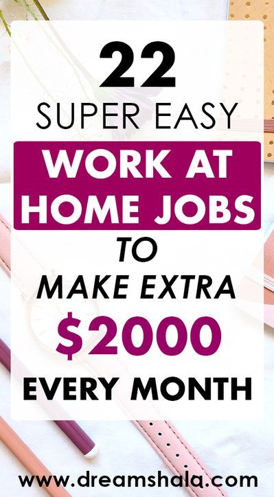 22 Genuine Work From Home Jobs & Side Gigs For 2019 - Dreamshala