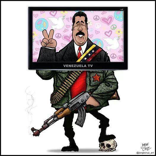 Resultado de imagen para Caricaturas del asesino (Maduro)