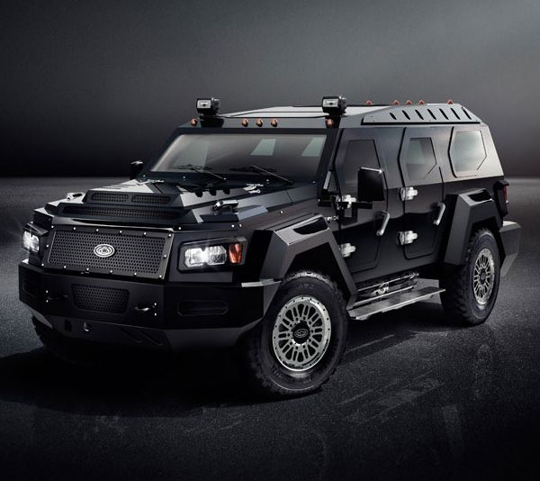 "Conquest Vehicles ""Evade"" Ultra-Luxury Armored Limousine SUV"