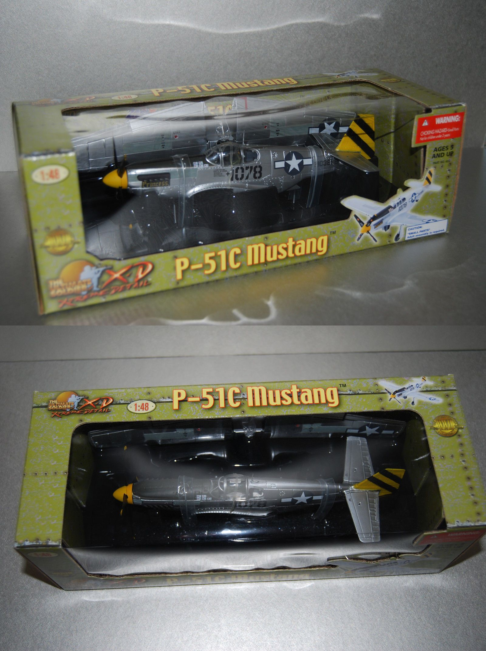 Other Military Aircraft Models 2587: 21St Century Toys Ultimate Soldier 1  48 P-51C Mustang Princess Sealed! -> BUY IT NOW ONLY: $44.99 on #eBay  #other ...
