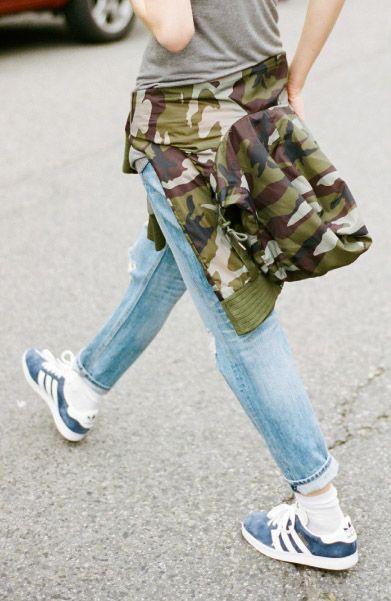 Adidas Gazelles   Camo fashion, Fashion