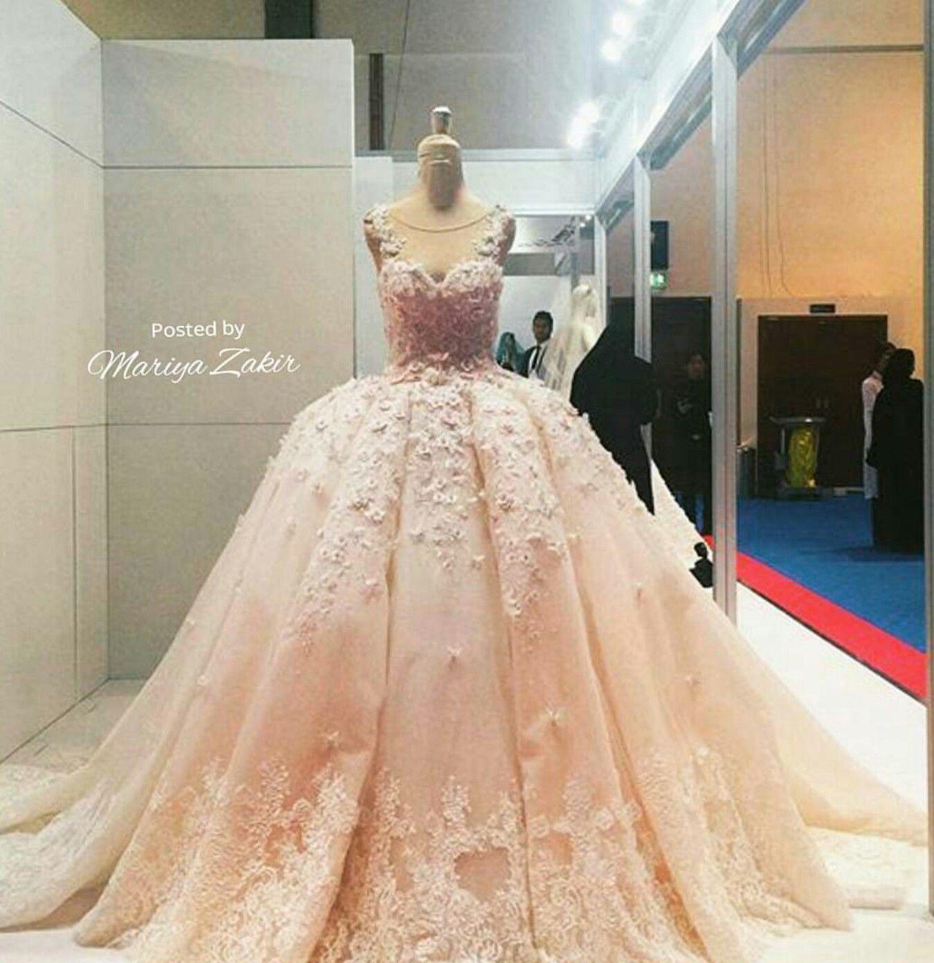 Mariya Zakir wedding gown...drop dead gorgeous! | wedding gowns ...