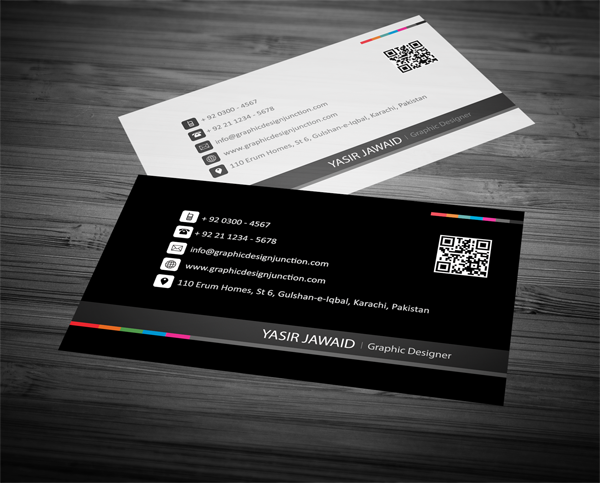 Creative business card mockup white black front business card creative business card mockup white black front reheart Image collections