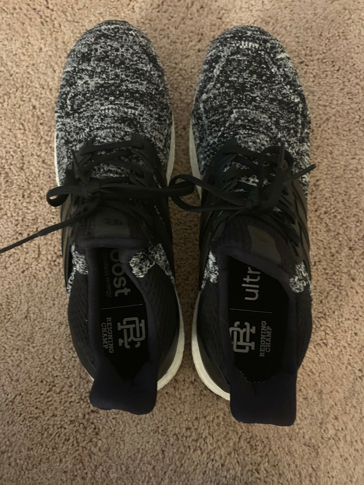 f970a883b8452 Adidas Ultra Boost 1.0 Reigning Champ SIZE 12 Used No Box Excellent  Condition