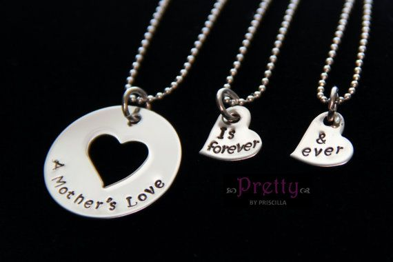 Hey, I found this really awesome Etsy listing at https://www.etsy.com/listing/175680391/mother-daughter-necklace-set-mothers-day