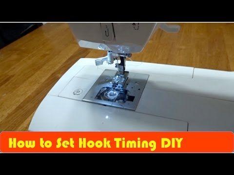 40 How To Fix Repair Singer Sewing Machine Hook Timing YouTube Classy Youtube Singer Sewing Machine Repair