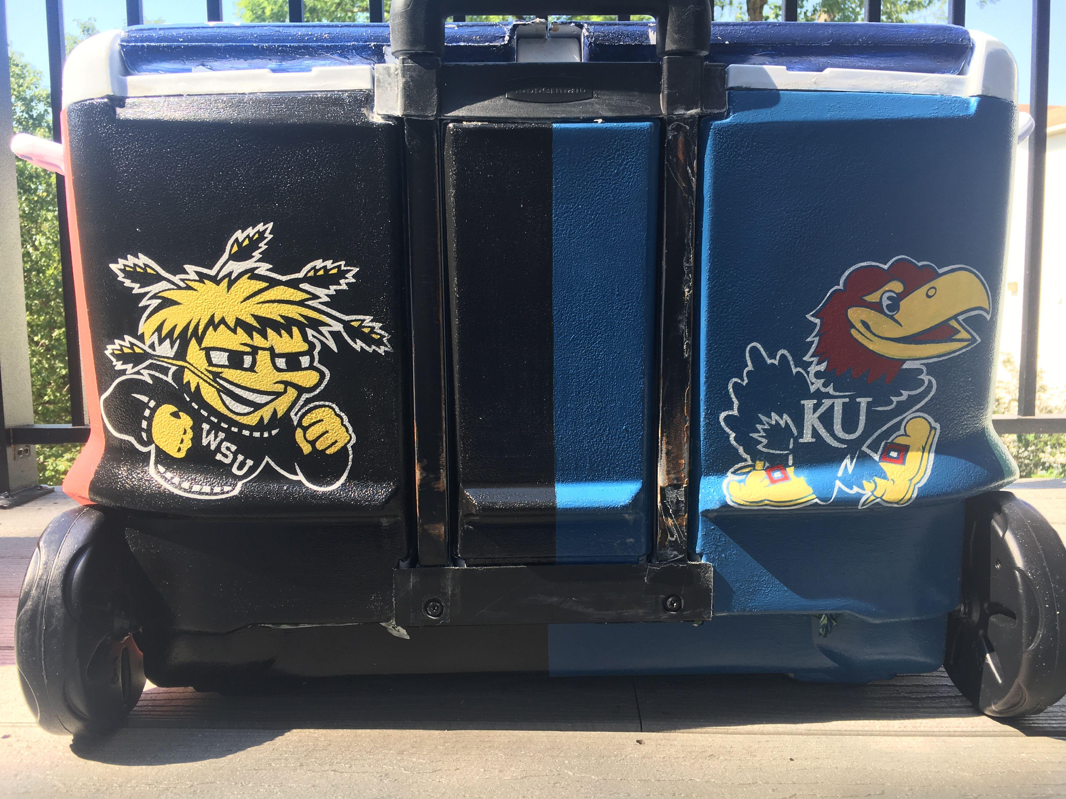 Fraternity Cooler Wichita State University Wsu University Of Kansas Ku Fraternity Coolers Wichita State University University Of Kansas [ 3024 x 4032 Pixel ]