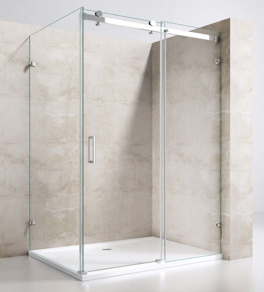 Frameless Sliding Shower In 2020 Shower Sliding Glass Door Sliding Shower Screens Glass Shower Doors Frameless