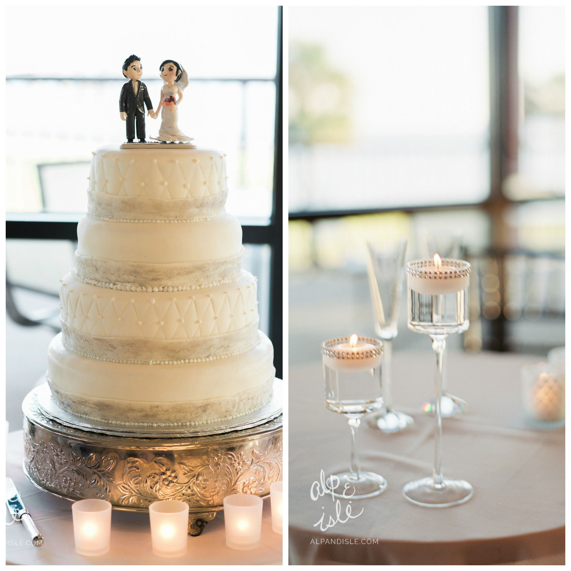 Catherine and Jeff Sanders Beach wedding Dock wedding