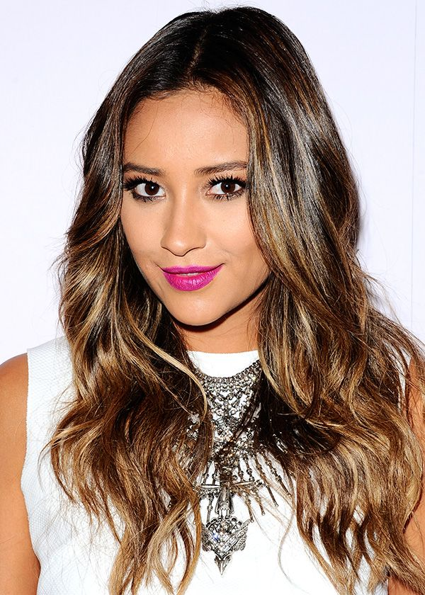 coiffures tendance cheveux ombr s shay mitchell ombre hair and ombre. Black Bedroom Furniture Sets. Home Design Ideas