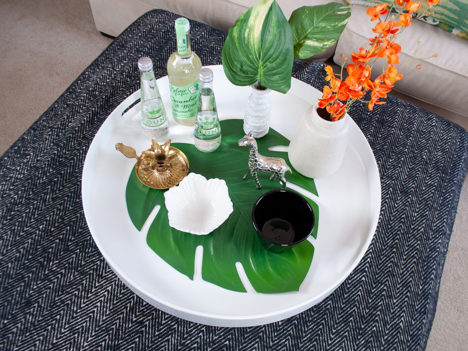 36+ White round coffee table tray ideas in 2021