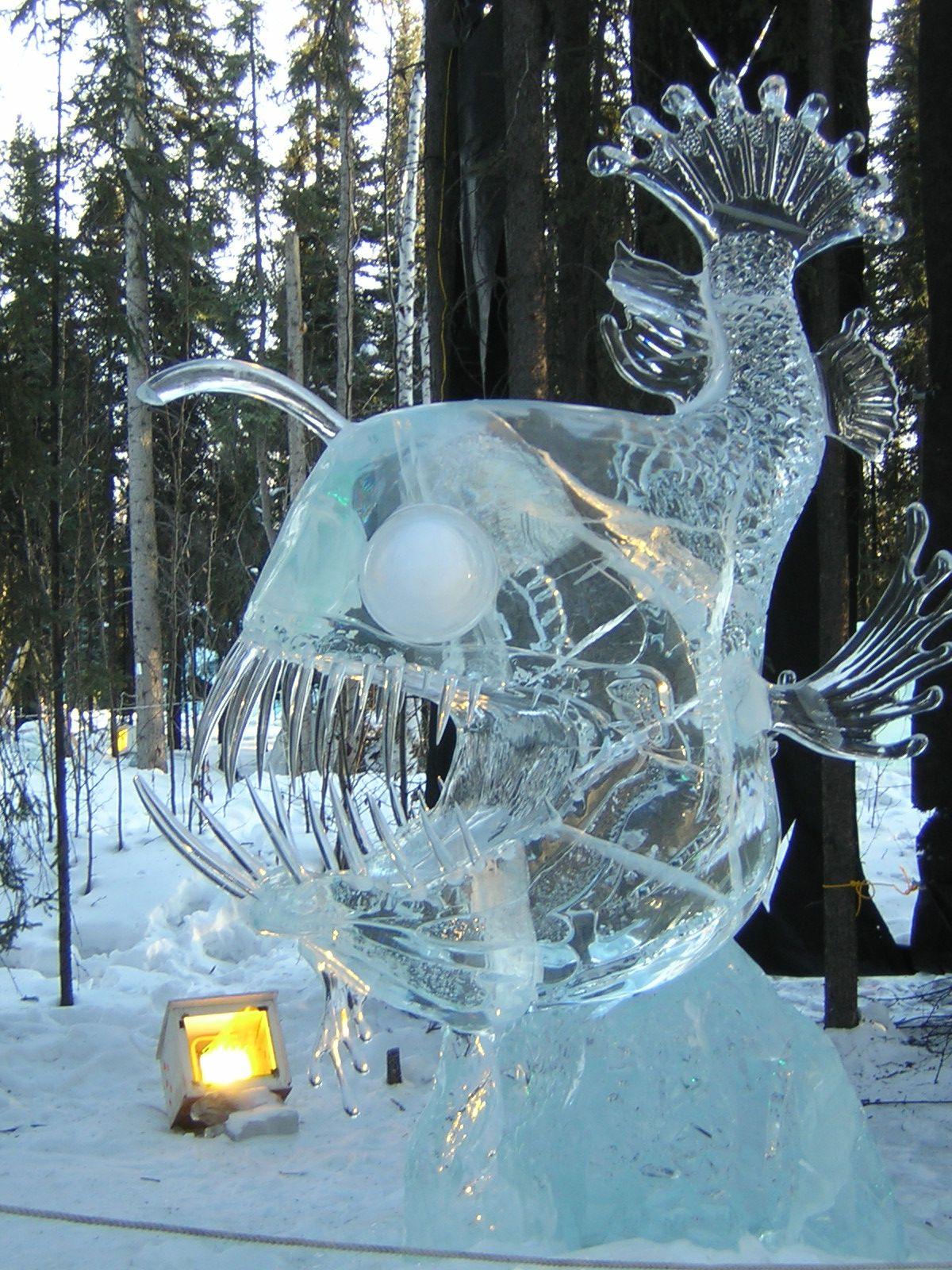 Fairbanks Ice Festival Alaska