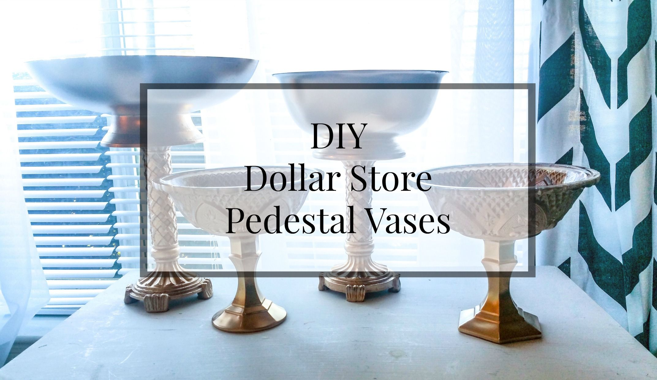 Diy dollar store pedestal vase for centerpiece httplinenandsalt diy dollar store pedestal vase for centerpiece httplinenandsalt2016 floridaeventfo Images