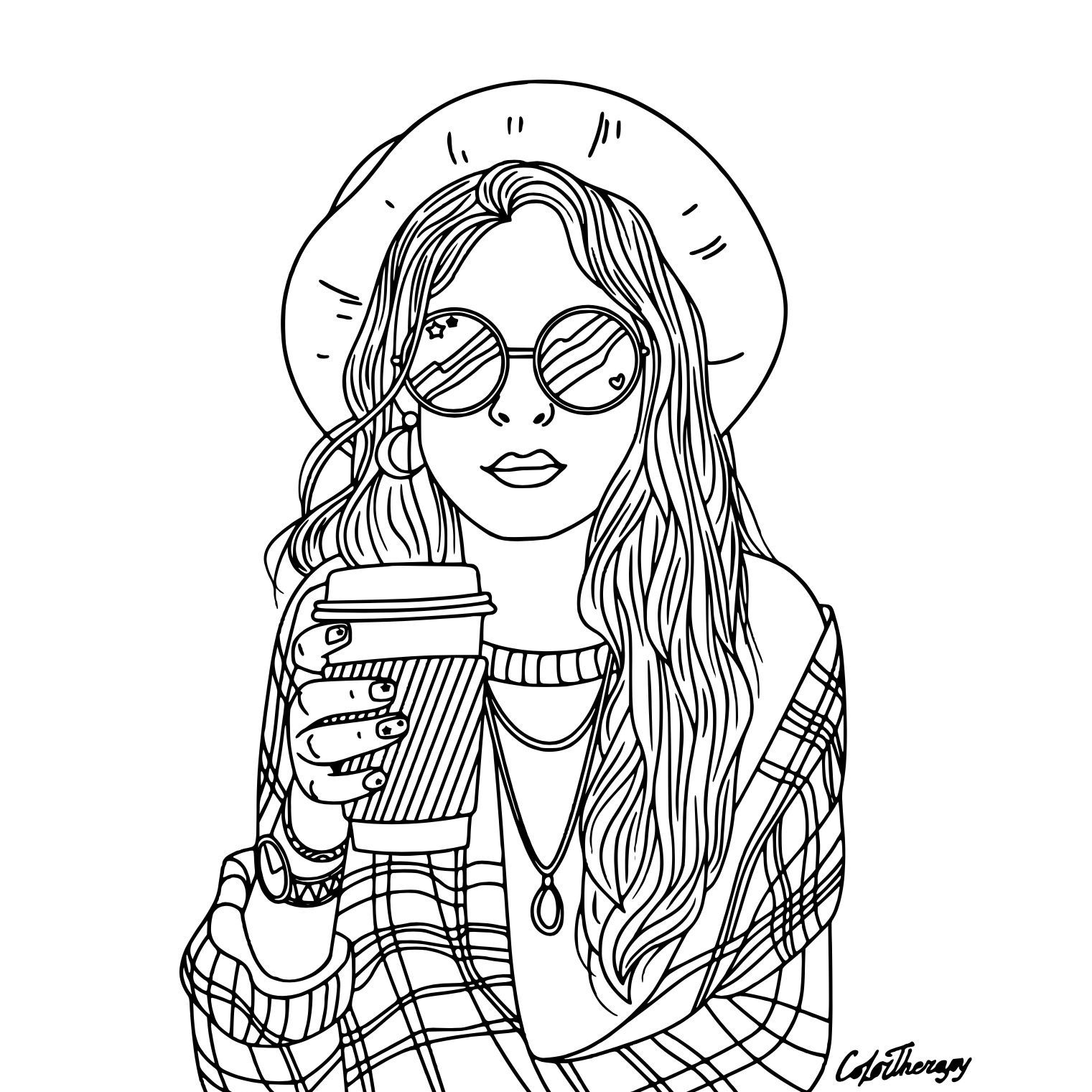 Top Coloring Pages Of People In 2021 People Coloring Pages Cute Coloring Pages Coloring Pages For Girls