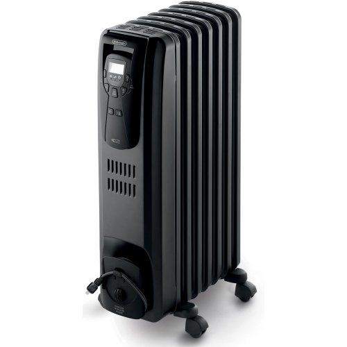 Delonghi Ew7507eb Oil Filled Radiator Heater Black 1500w Delonghi Http Www Amazon Com Dp B004bzfqb8 Ref Oil Filled Radiator Best Space Heater Radiator Heater