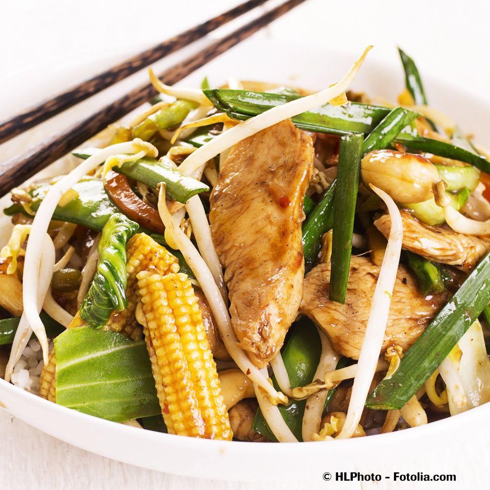 Hühnchen und Mais sind Zutaten für Gewinner./ chicken and corn is a combination for winner.