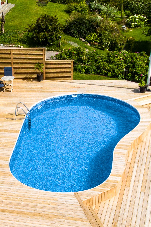 bygga pool ovan mark