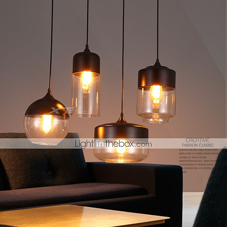 Contemporain / Traditionnel/Classique / Rustique / Vintage LED Verre