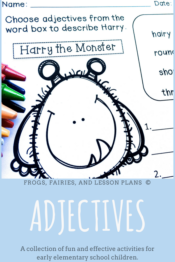 Adjectives And Adverbs 2nd Grade Adjectives Adjectives Activities Teaching Adjectives [ 1102 x 735 Pixel ]