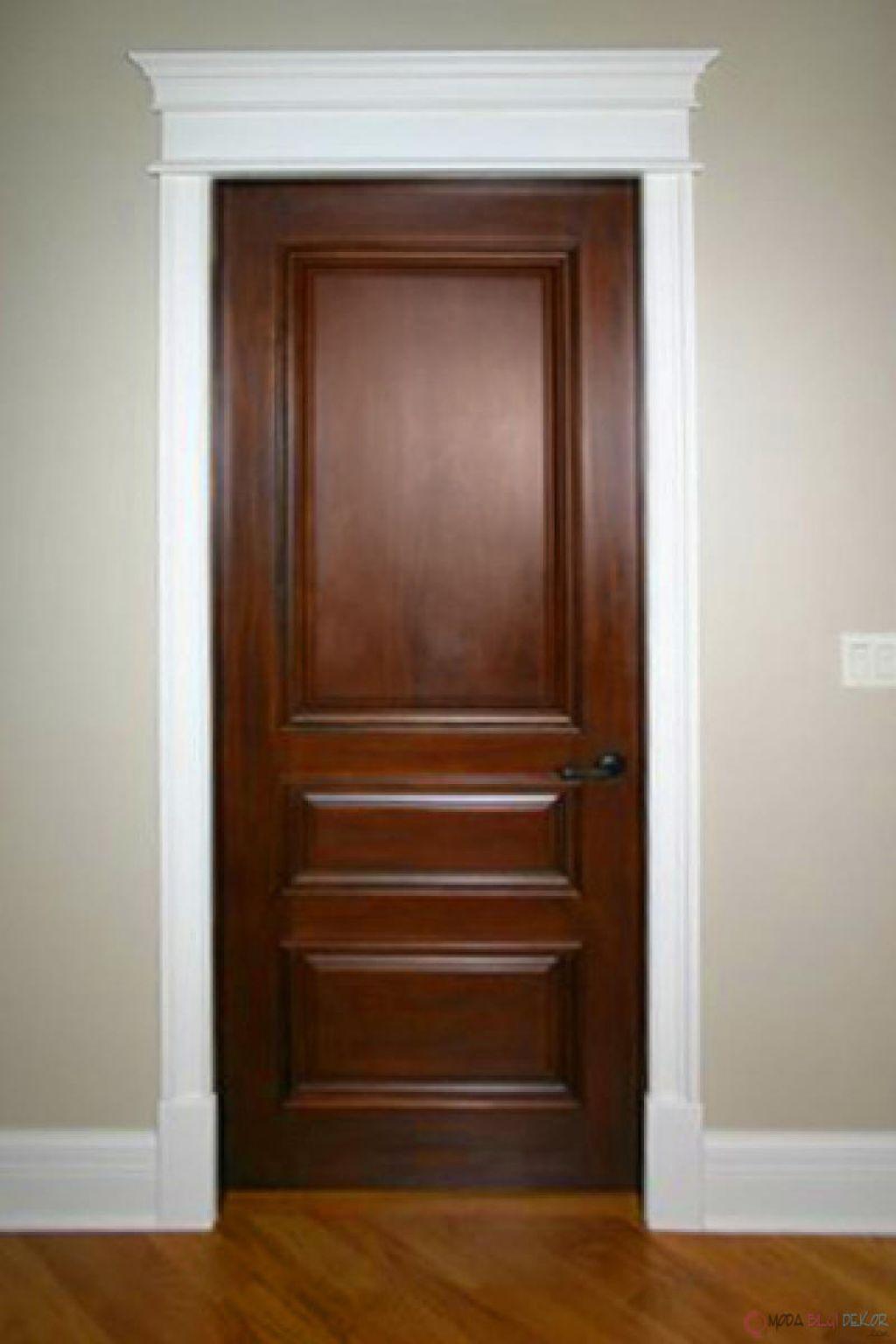 Buying Tips For Solid Wood Doors Wood Doors White Trim Stained Doors White Trim Solid Wood Interior Door