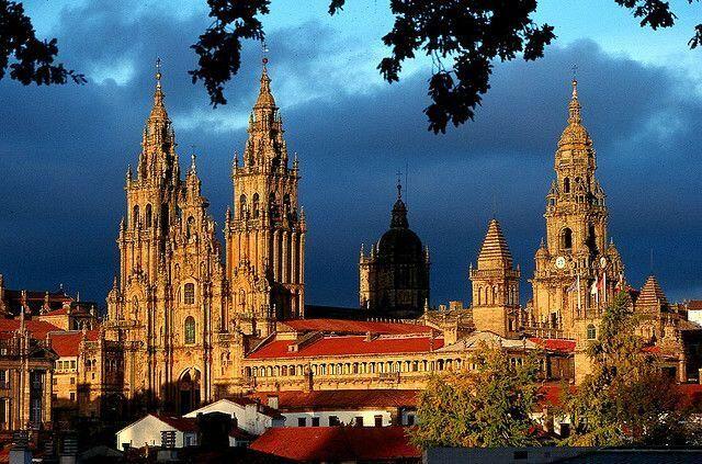 Santiago de compostela, catedral, España pic.twitter.com/PJ5Q1jo4BP