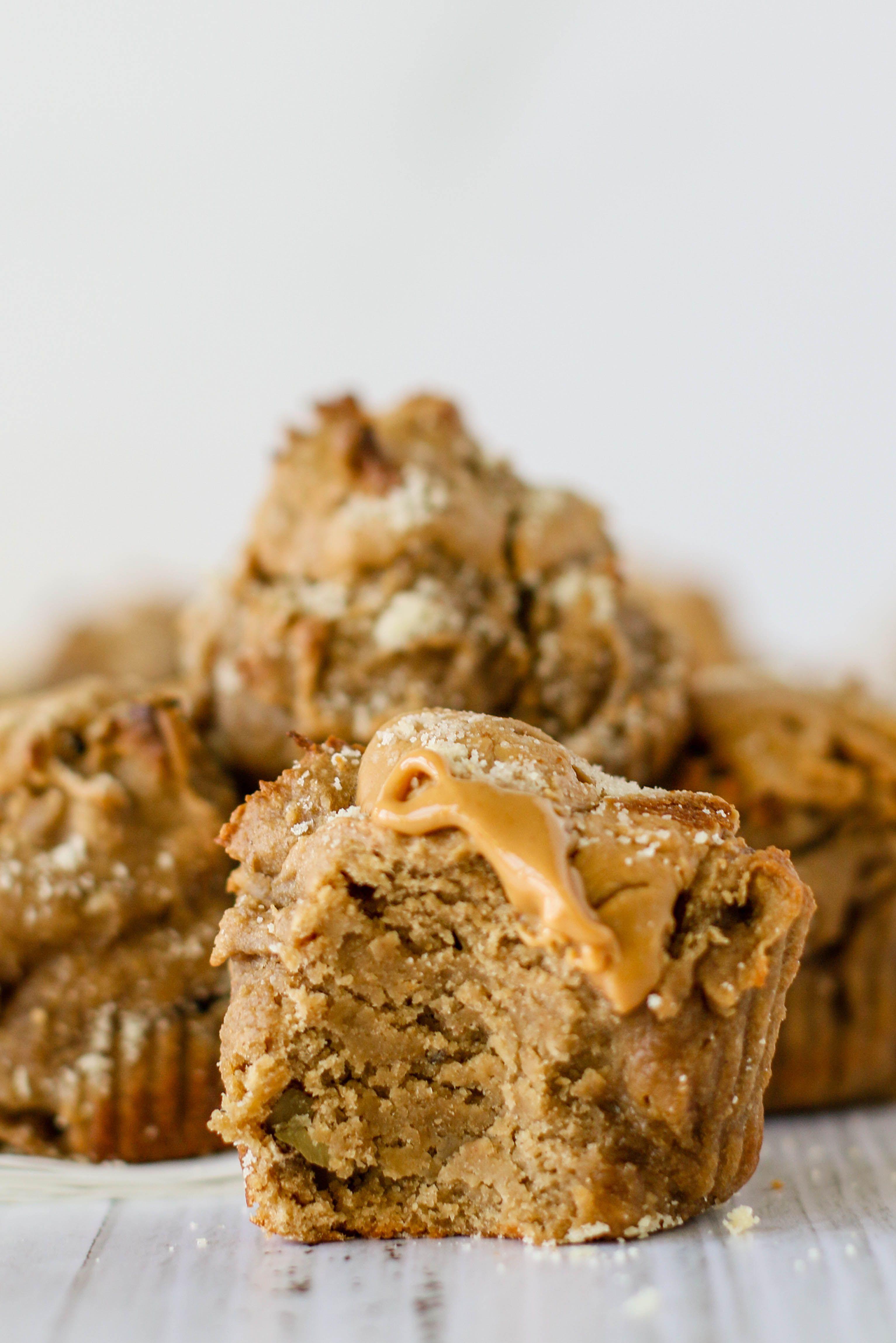 Peanut Butter Banana Bread Swirl Muffins Recipe Sugar Free