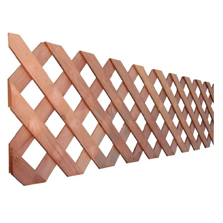 Top Choice Actual 0 5 In Redwood Traditional Lattice Lattice Decorative Screen Panels Traditional