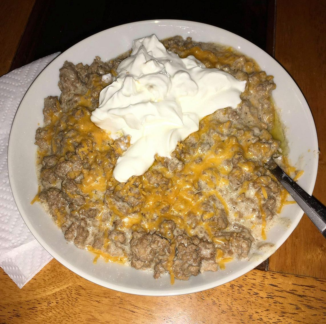 Daryl S Zero Carb Hiney Helper Recipe A Lb Of Ground Beef 4oz Of Cream Cheese When It S Almost D Zero Carb Foods Dinner With Ground Beef Sour Cream Recipes