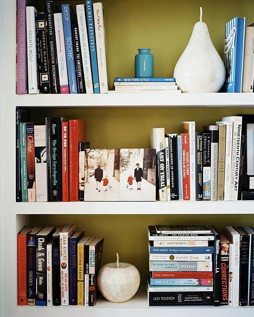 Styled Bookshelves Painted Bookshelves Bookshelf Decor Unique