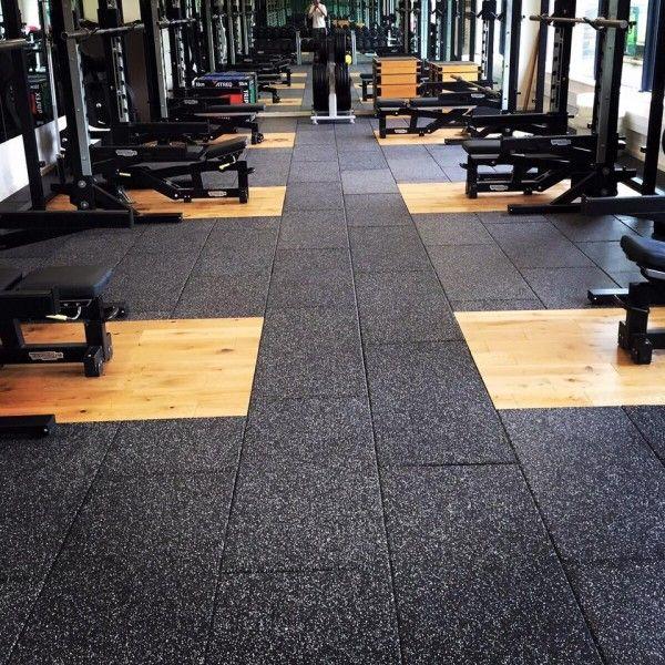Premium Rubber Gym Tiles in 2020 Gym flooring tiles